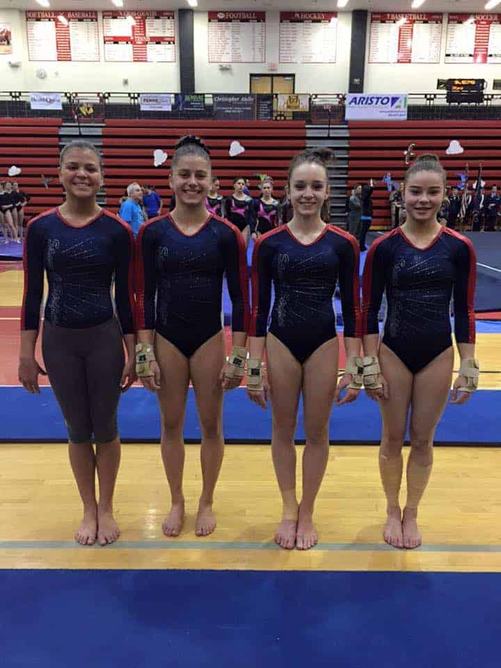 mega gymnastics meet schedule