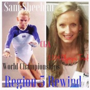 Region 5 Elites who chased Olympic Glory: Samantha Sheehan, CGA