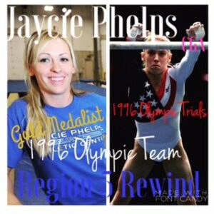 Region 5 Elites who chased Olympic Glory: Jaycie Phelps, CGA
