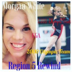 Region 5 Elites who chased Olympics Glory: Morgan White, CGA