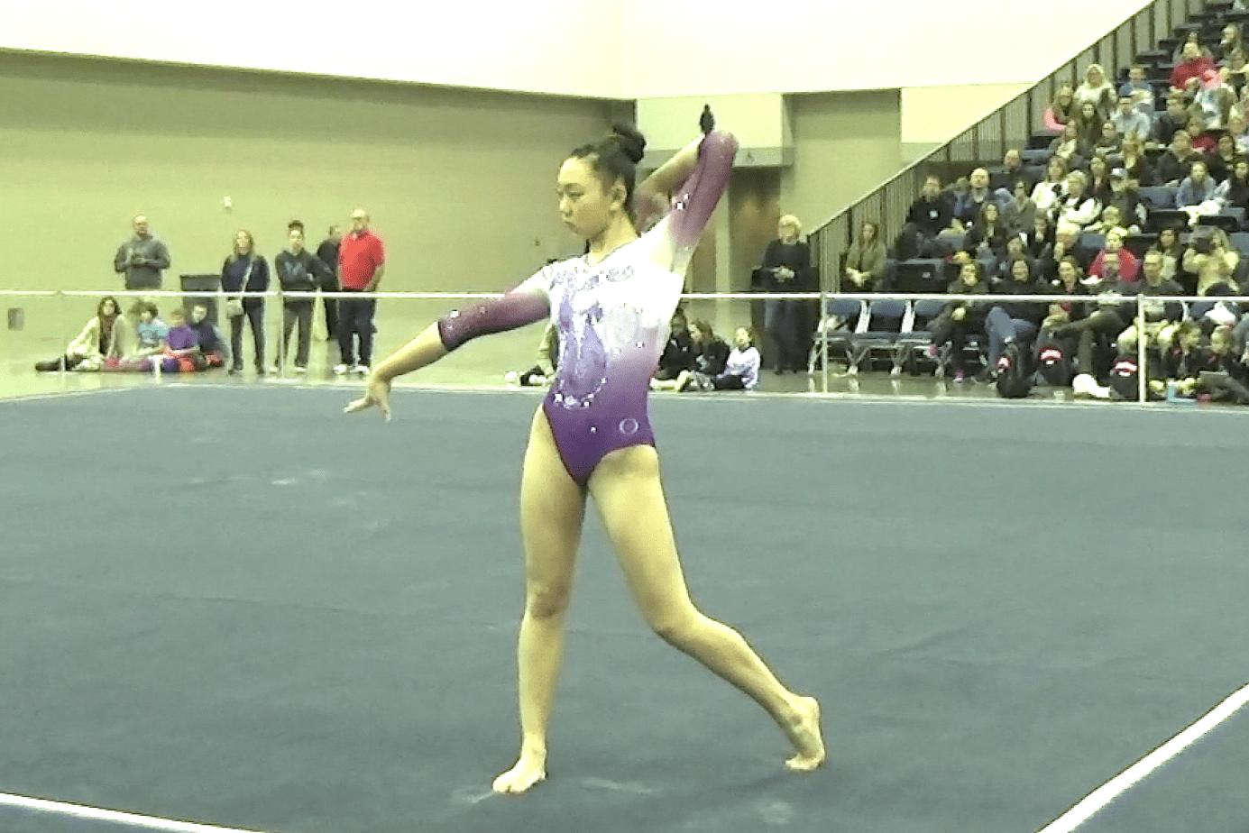 circle of stars gymnastics meet 2015